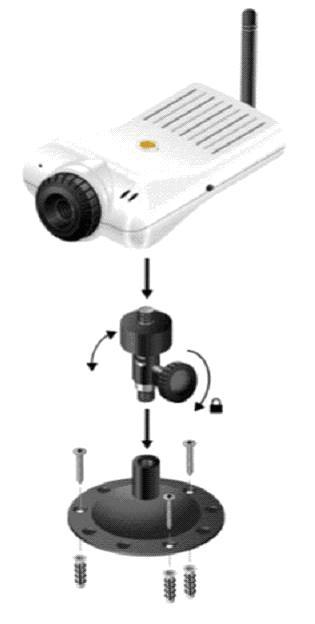 installation de la cam ra ip sur une dartybox v2 bewan sous windows xp. Black Bedroom Furniture Sets. Home Design Ideas