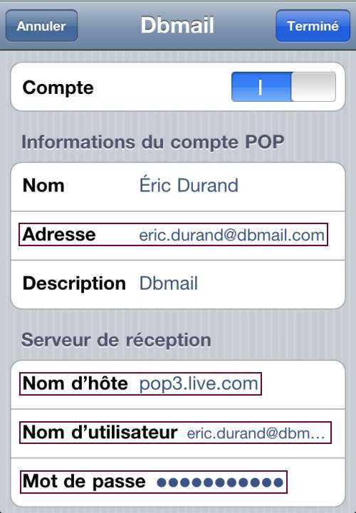 Changer Mdp Iphone